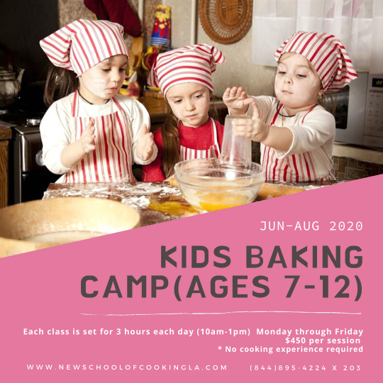 image for a Kids Baking Camp (Ages 7-12)