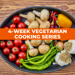 The image for VEGETARIAN COOKING SERIES CLASS 1