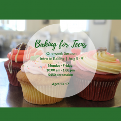 The image for INTRO TO BAKING FOR TEENS SERIES CLASS 1