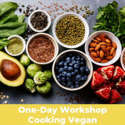 The image for Cooking Vegan- Workshop