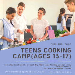 The image for Teens Camp - Basic Cooking Day 1