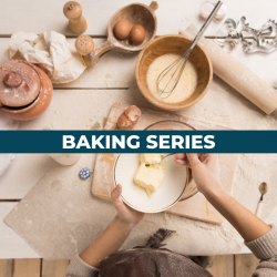 The image for 20-WEEK BAKING SERIES CLASS 1