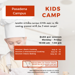 The image for Kid's Camp - Basic Cooking Day 1